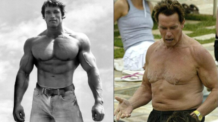 young vs old arnold